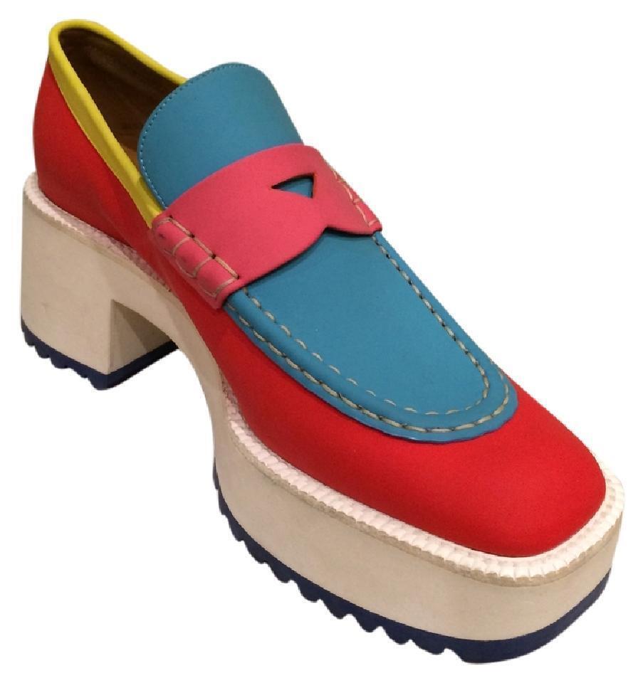 New Marc Jacobs  850 MultiColor Platform Pelle Loafers (Size: 36EU/6US)