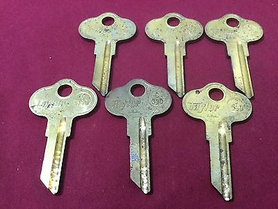 Chrysler Outboards By Taylor C39d/ch6 Key Blanks Set Of 6 Locksmith