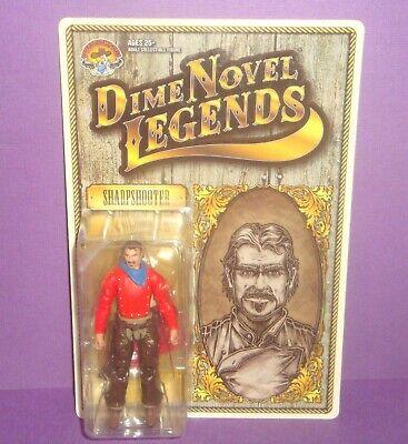 "3 3//4/"" Cowpuncher Figure Dime Novel Legends Limited Kickstarter Project"