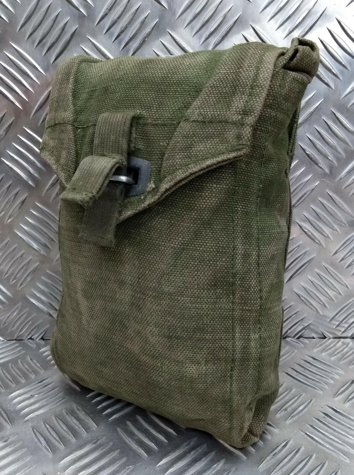 Original Vintage M39 Schwedische Militärgrün Gurtband Seite Nutzen / Ammo Etui