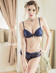 108a8f4206 Women plus size Bra Sets Embroidered Flora Lace Thong Bra Panty Set ...
