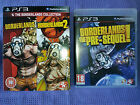 PS3 LOTTO COMPLETO BORDERLANDS - 3 GIOCHI