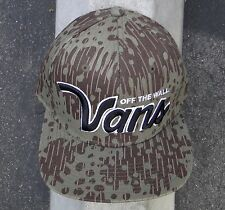 Vans Skate Verdugo Leopard Mens Green Snapback Hat one size fit all