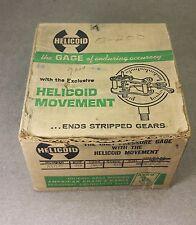 """Helicoid Pressure Gauge 410-R 3.5"""" 200PSI"""