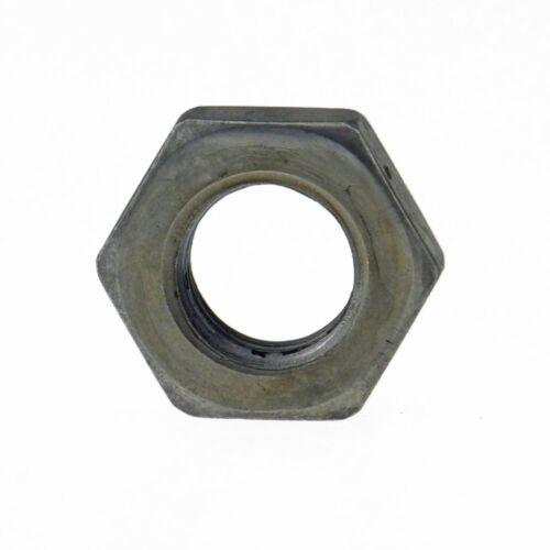 Sechskantmuttern niedrige Form DIN 936 17 H Stahl blank