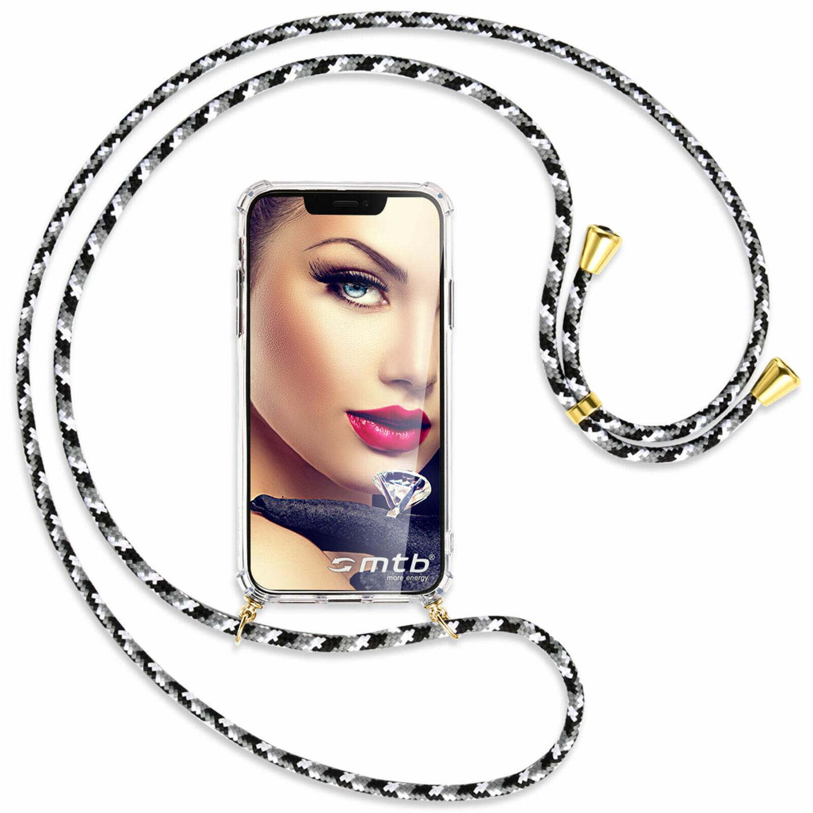 Collar para Huawei Mate 10 Lite / G10 negro/blanco/gris (O) Funda Cuerda...