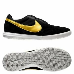 0979010460c Nike Tiempo Premier II Sala Indoor IC 2019 Soccer Shoes New Black ...