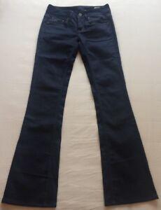 "Men's G-Star RAW 3301 Bootleg Blue Jeans (Stretch Fit) Waist 26"" / Leg 34"" BNWOT"