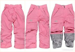 725cd9a1b Details about The North Face Girls Pink Freedom Insulated Snow Winter Pants  L 14 16 XL 18 20