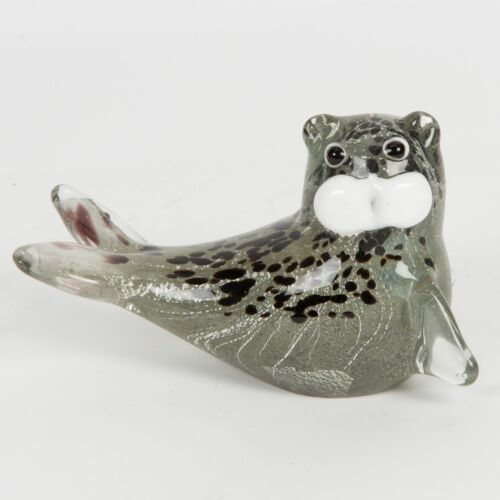60338 Grey Seal Objets d/'art Glass Figurine