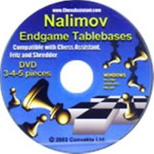 Nalimov Ending Tablebases, 3-4-5 piece, chess software