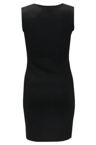 Mesdames Femmes Léopard Aztèque Carreaux Rayures Imprimer Short Mini Stretch Robe Moulante