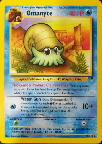 POKEMON Omanyte 57//110 Legendary Collection ENGLISH