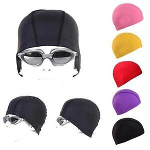 7cd8df772ac Hot Women Men Swim Cap Bathing Hat Extra Large Swimming Cap Unisex ...