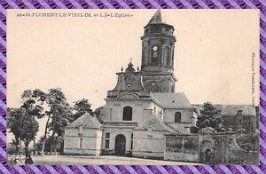 Tarjeta-Postal-San-VIEJO-DE-FLORENT-La-iglesia