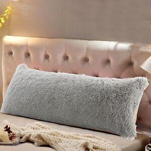 Reafort Long Hair Body Pillow Cover With Hidden Zipper