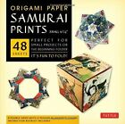 Origami Paper Samurai Prints Small 6 3 4 It's Fun to Fold by Tuttle Publishing