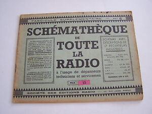 Schematheque De Toute La Radio , Schemas Recepteurs Pour Depanneurs .eo N° 6 . Mvqlasc4-08005132-295623190
