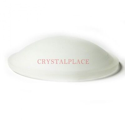 Crystal Clear 2-Inch Coffin Stone One Hole Suncatcher Prism Wholesale Pack of 10