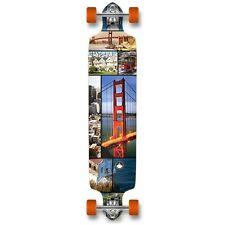 San Francisco city Graphic Drop Down Complete Longboard Pro Speed skateboards