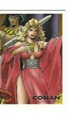 Conan Art Of The Hyborian Age Savage Sisterhood Chase Card S4