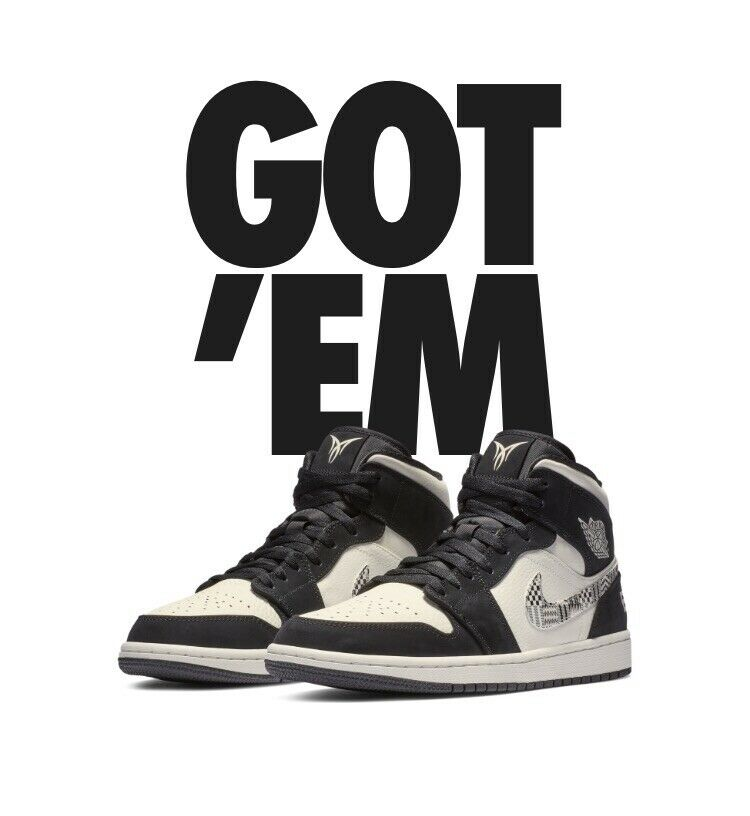 Nike Air Jordan 1 Mid SE Eqality  2019 Men Us Size 11.5 ( In Hand ) 852542 010