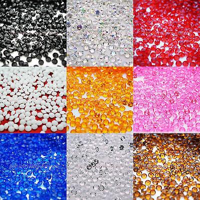 1000 Confetti Diamond Table Wedding Crystal Scatter Decoration Acrylic Gem Party