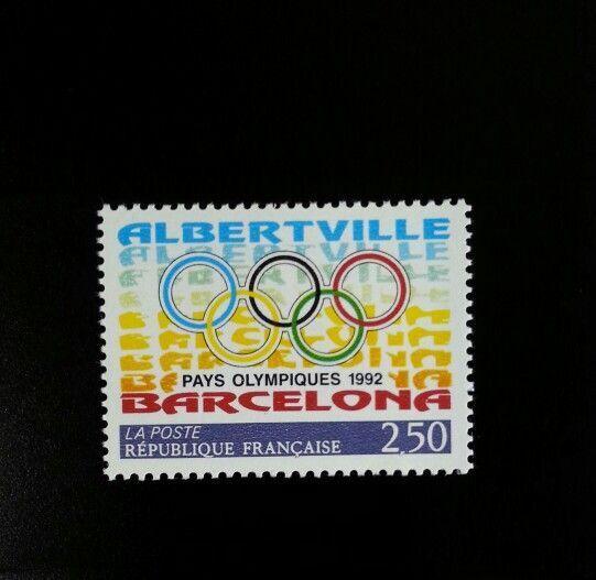 1992 France Olympic Games, Albertville & Barcelona Scot