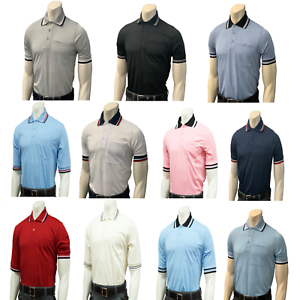 SMITTYBBS-307Baseball Softball Umpire ShirtBODY FLEX Short Sleeve
