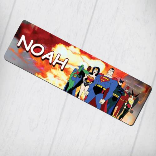 2 Design Justice League Personalised Bookmark