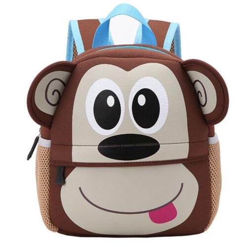 Cute Toddler Kids Children Boy Girl  Cartoon Animal Backpack School Bag New