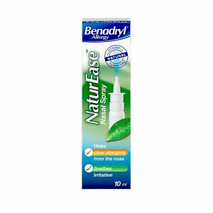 Benadryl Allergy Nature Ease Nasal Spray - London, United Kingdom - Benadryl Allergy Nature Ease Nasal Spray - London, United Kingdom