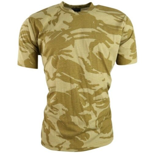 MENS ARMY CAMOUFLAGE T-SHIRT S-3XL 100/% COTTON MTP BTP DPM DESERT URBAN SAS CAMO