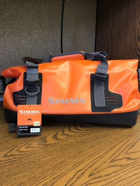 26L Simms Dry Creek Fishing Boat Bag Medium 420D Waterproof Nylon PG-11790