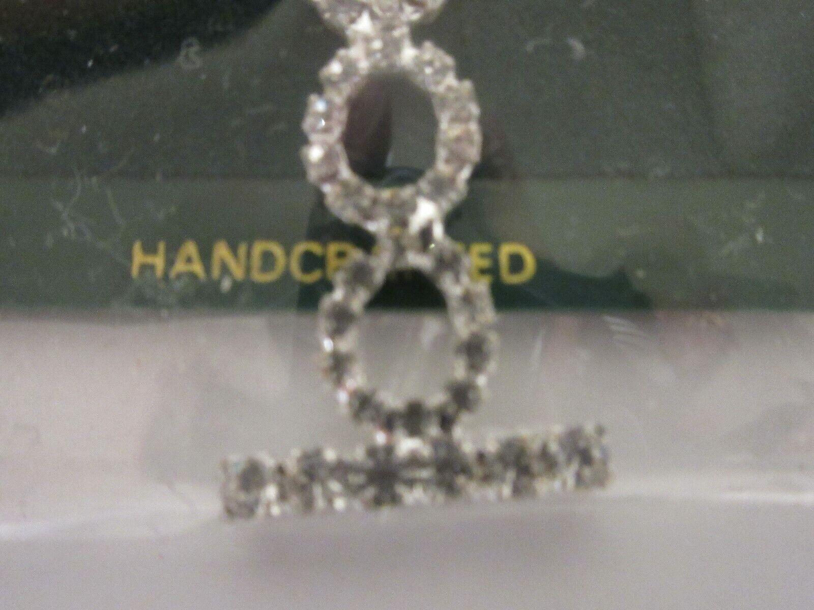 Costume Jewelry ,Vintage , Austrian Crystal , Hand Craf