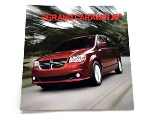 2012 Dodge Grand Caravan Van 26-page Original Car Sales Brochure Catalog - R/T