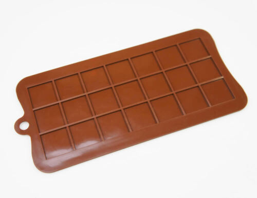 2.5cm Squares Pixels Tiles Mosaic Mine Silicone Chocolate Mould Craft Cake