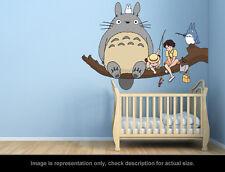 Ghibli Totoro - Fishing Wall Art Applique Sticker