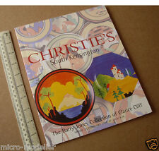 Year 2000 Barry Jones Collection Clarice Cliff Auction Christie's South Ken.