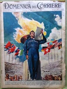 La-Domenica-del-Corriere-28-Agosto-1960-Powers-Spionaggio-Cipro-Moore-Douglas
