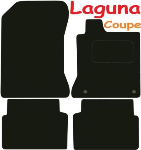 Deluxe Quality Car Mats for Renault Laguna Coupe 07-12 ** Tailored for Perfect f