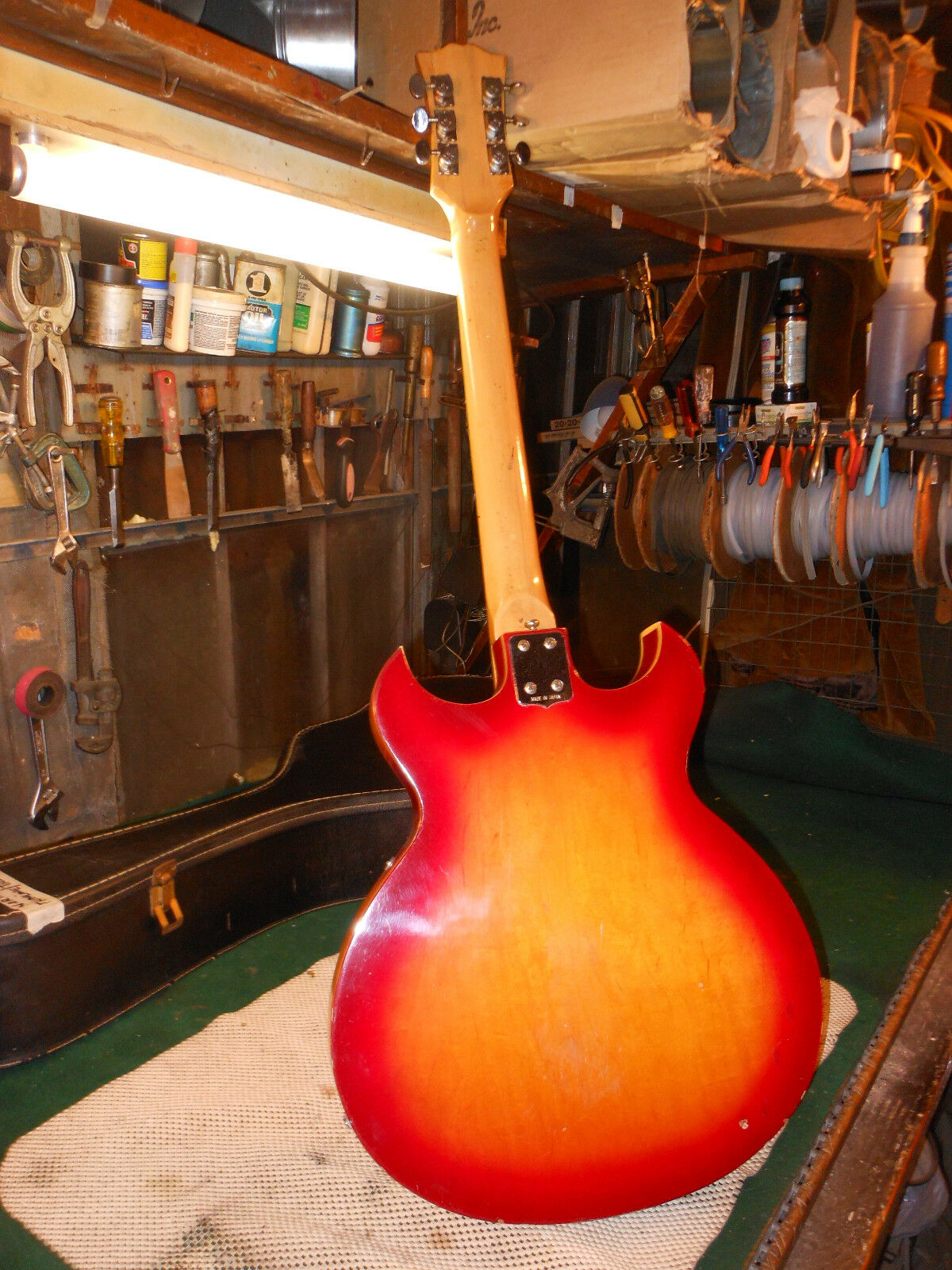 VINTAGE NORMA 4-PICKUP GUITAR  JAPAN-MADE Double Pointed Pointed Pointed eca998