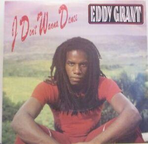 "EDDY GRANT ~ I Dont Wanna Dance ~ 7"" Single PS"