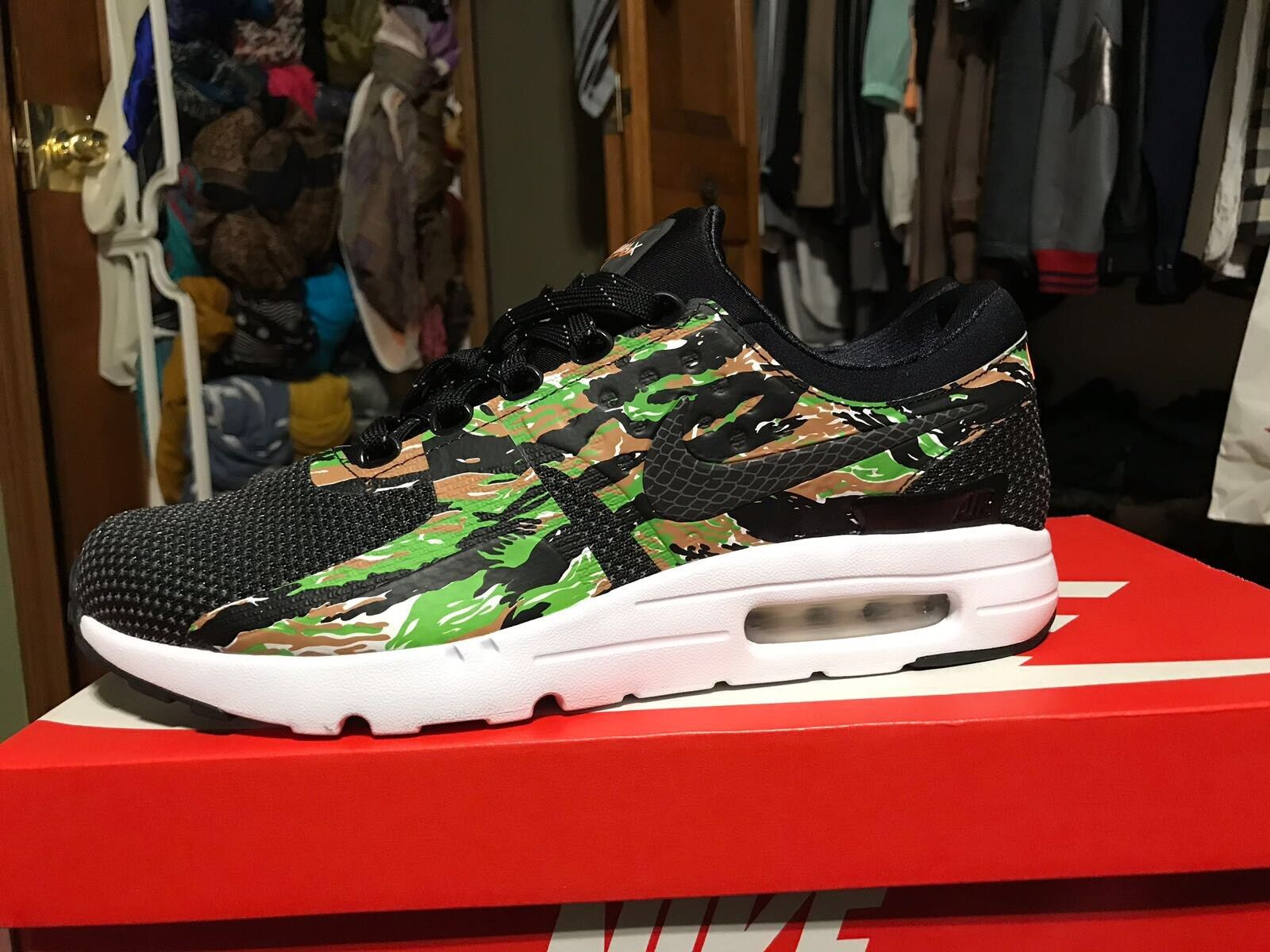 Nike Air Max Zero Jp Id Atmos Tiger Camo Day Japan Only QS 400 Pair AH1809 008