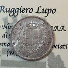 Vittorio Emanuele II 1 Lira Stemma 1863 (MI) Milano SPL periziato