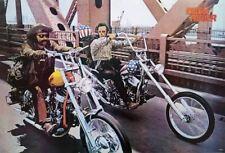 EASY RIDER POSTER Dennis Hopper Peter Fonda RARE 24X36