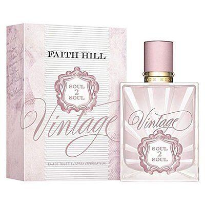 Women's Soul2Soul Vintage by Faith Hill Eau De Toilette - 1 oz