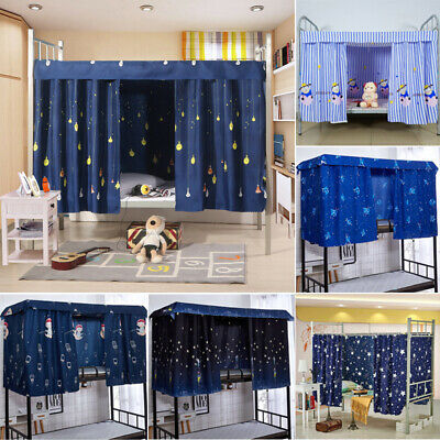 Single Bed Bunk Bed Tent Curtain Student Dormitory Light
