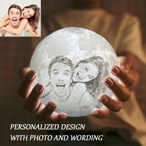 Anniversary Valentine Gifts Moon Lamp Customized Gift For Her Gift For Women Led Ebay