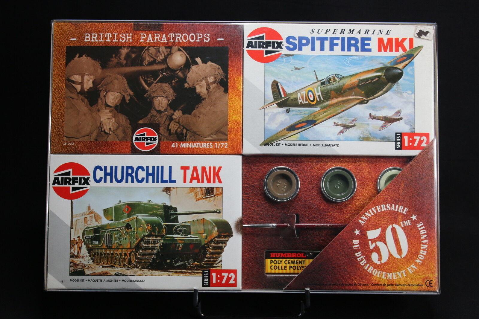 XM015 AIRFIX Collection Day 50 Anniversaire  débarqueHommest 01723 01304 01071 WWII  prix le moins cher